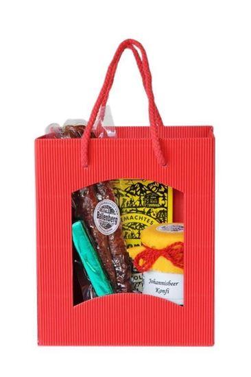 Image sur Sac-cadeau rouge